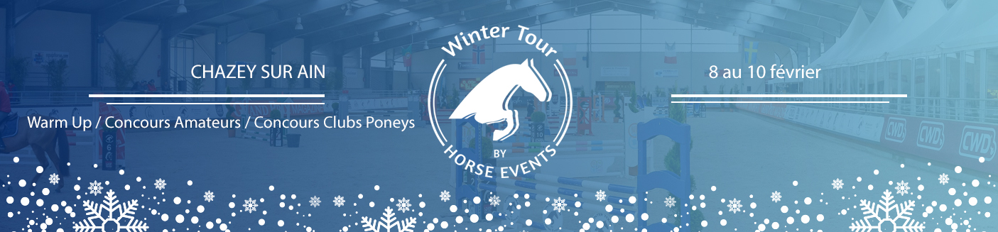Winter Tour by Horse Events - Amateur- club - Ponam - Chazey-sur-Ain / 09/02/2019 - 10/02/2019