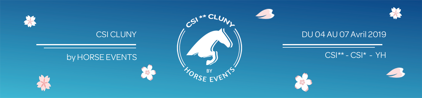Cluny by Horse Events - CSI2* / CSI1* /CSI YH / 03/04/2019 - 07/04/2019