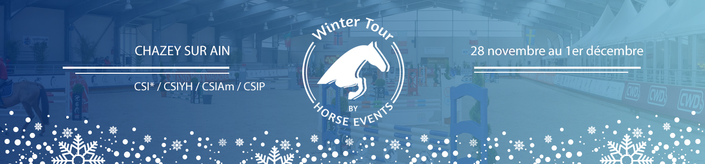 Winter Tour by Horse Events - CSI1* - Chazey-sur-Ain- / 26/11/2019 - 29/11/2019